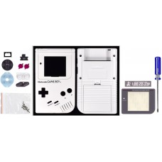 GameBoy Play it Loud Shell [Traditional White]
